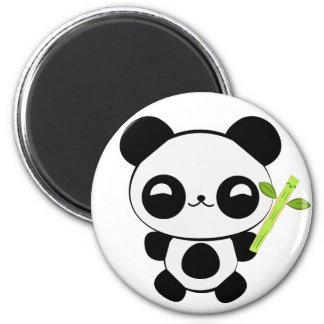 Imán feliz de la panda del bebé