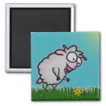Imán feliz de las ovejas