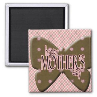 Imán feliz del día de madre