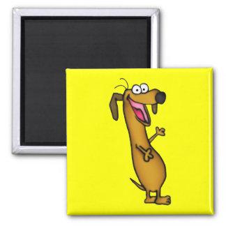 Imán feliz del Weenie