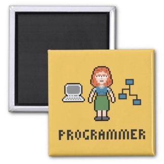 Imán femenino del programador del pixel