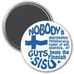 Imán finlandés de SISU
