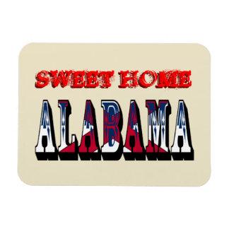 Imán flexible casero dulce de Alabama