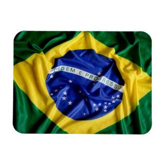 Imán flexible de la bandera brasileña