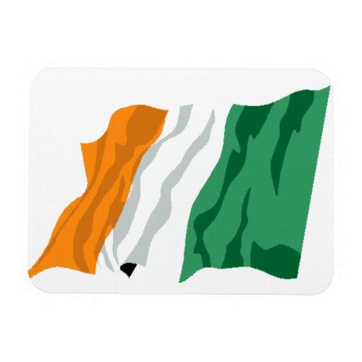 Imán flexible de la bandera de Irlanda de St Patri