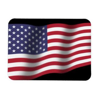 Imán flexible de la bandera de los E.E.U.U.
