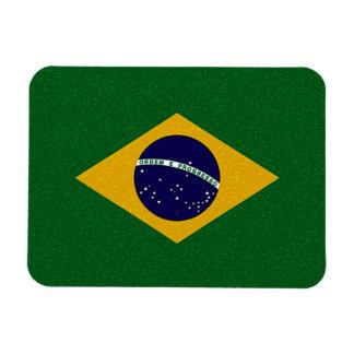 Imán flexible de la BANDERA del BRASIL