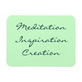 Imán flexible de la creación de la inspiración de