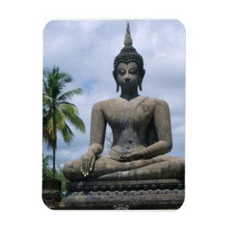 Imán flexible de la estatua de Buda