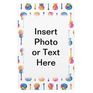 IMÁN FLEXIBLE de la FOTO de las GUITARRAS de Perso