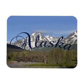 Imán flexible de la montaña de Alaska Chugach