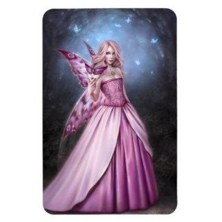Imán flexible de la reina de hadas de la mariposa