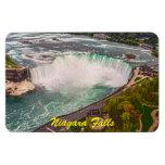 Imán flexible de la sepia antigua de Niagara Falls