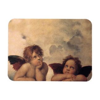 IMÁN flexible de las querubes de Raphael