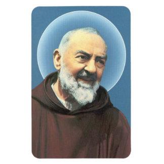 Imán flexible de Padre Pio del santo