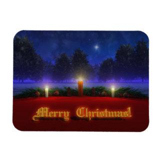 Imán flexible de un navidad más brillante de las