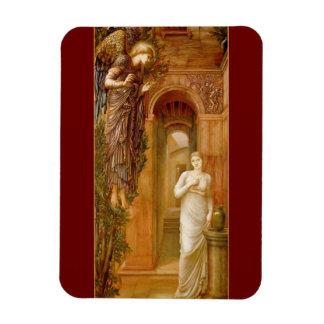 IMÁN flexible del ángel del Pre-Raphaelite