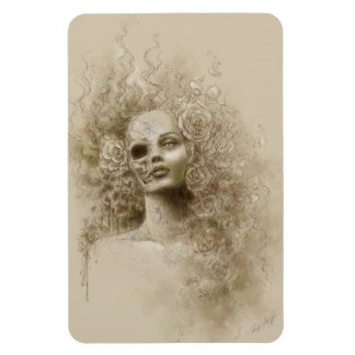 Imán flexible del arte macabro de la fantasía del