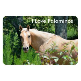 Imán flexible del caballo del Palomino
