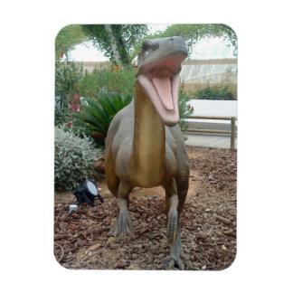 Imán flexible del dinosaurio del Velociraptor