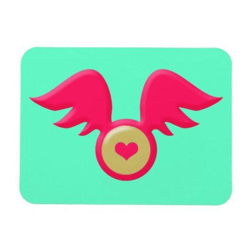 Imán flexible del el día de San Valentín