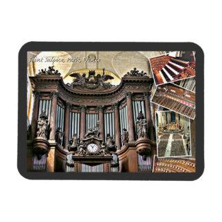 Imán flexible del órgano de París