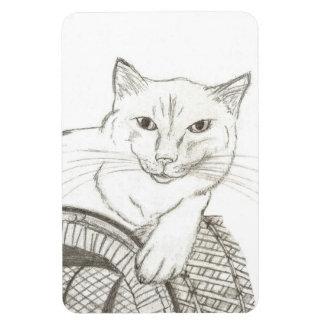 Imán flexible del retrato de Ragdoll del gato