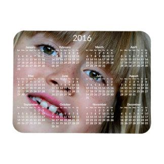 Imán flexible personalizado de los calendarios