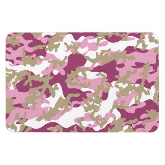 Imán flexible rosado de encargo de Camo
