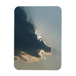 Imán flexible superior de la nube del hipopótamo