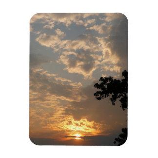 Imán flexible superior de la puesta del sol
