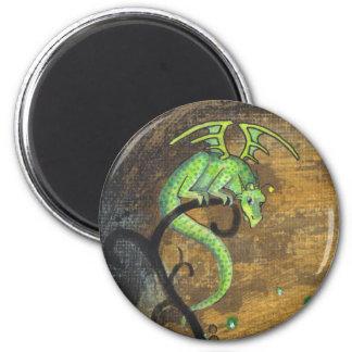 Imán fosforescente del dragón
