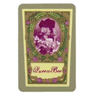 Imán francés antiguo del perfume de la abeja reina