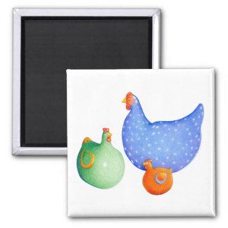 Imán francés de las gallinas