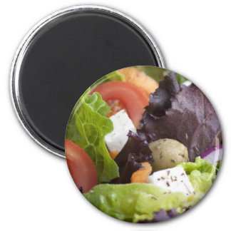 Imán fresco de la ensalada