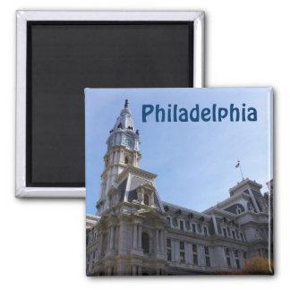 Imán fresco de la fotografía de Philadelphia