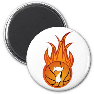 Imán fresco del baloncesto de Personalizable