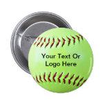 Imán Fundraising del softball, llavero, botón