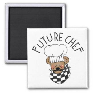 Imán futuro de la cocina del cocinero
