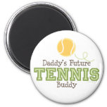 Imán futuro del compinche del tenis del papá