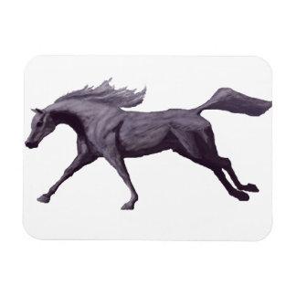 Imán galopante del caballo árabe