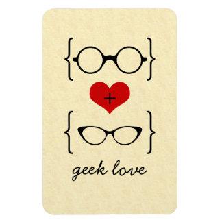 Imán Geeky del premio de los vidrios