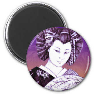 Imán Geisha Abanico Fridge Magnets