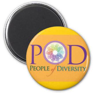 Imán - gente de la diversidad