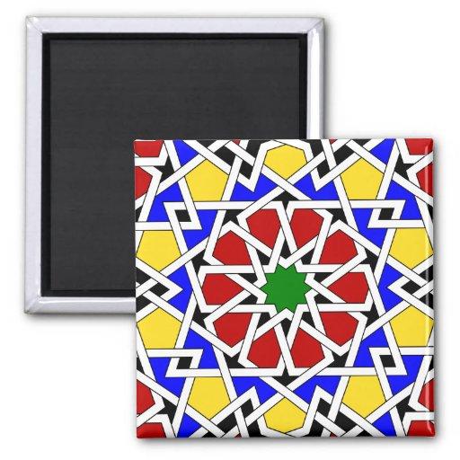 Imán geométrico islámico del modelo