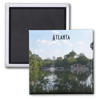 Imán Georgia de la foto del lago park de Atlanta P