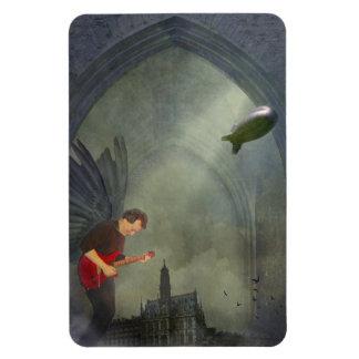Imán gótico de la guitarra
