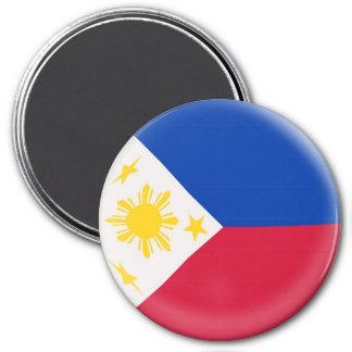Imán grande de 3 pulgadas - bandera de Filipinas