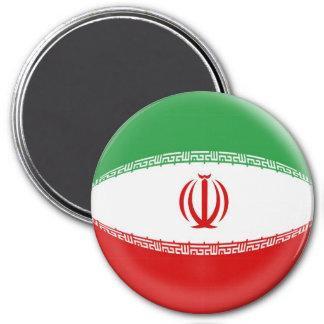 Imán grande de 3 pulgadas - bandera de Irán