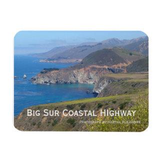 Imán grande de la carretera costera de Sur